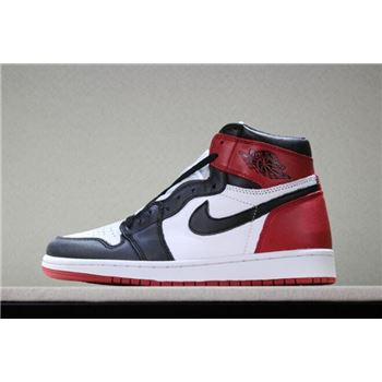 Air Jordan 1 Retro High OG Black Toe White/Black-Gym Red 555088-125