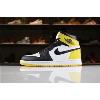 2018 Air Jordan 1 Retro High OG Yellow Ochre Summit White/Black-Yellow Ochre For Sale