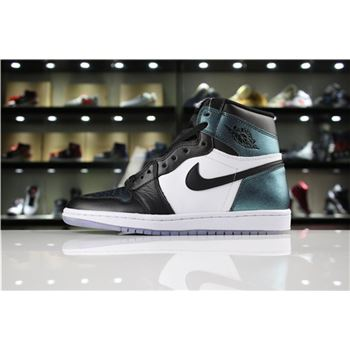 Men's Air Jordan 1 High OG All-Star Black/Metallic Silver-White 907958-015