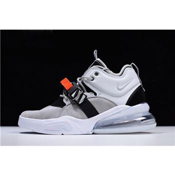 Men's Nike Air Force 270 Wolf Grey/Dark Grey AH6772-002