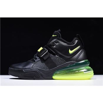 Nike Air Force 270 Black/Fluorescent Green Free Shipping