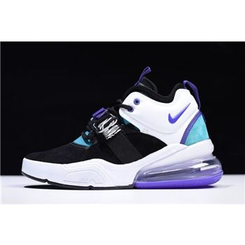 Women's Nike Air Force 270 Carnivore Black/Court Purple-Dark Atomic Teal AH6772-005