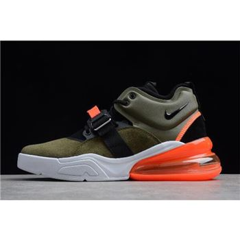 Nike Air Force 270 Medium Olive/Black-Challenge Red-Sail AH6772-200 Free Shipping