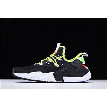 Nike Air Huarache Drift PRM Black/Volt Men's Running Shoes AH7334-018
