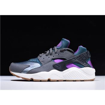 Nike Air Huarache Run Mowabb Dark Grey/Teal 634835-016 For Sale