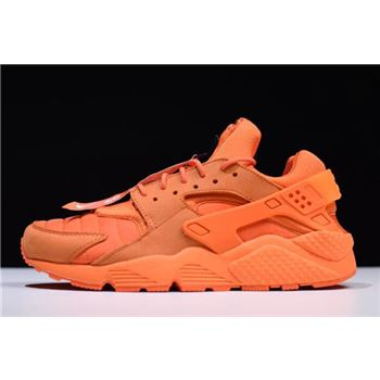 Nike Air Huarache Run QS Chicago Orange Blaze/Midnight-White AJ5578-800