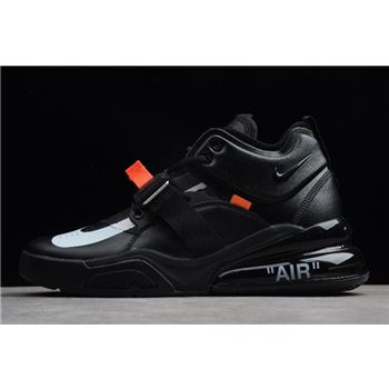 Off-White x Air Jordan 1 x Nike Air Force 270 Black/White For Sale