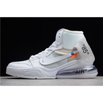 Off-White x Air Jordan 1 High OG x Nike Air Force 270 White/White For Sale