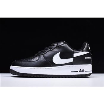 Supreme x Comme Des Garcons x Nike Air Force 1 Low Black/White AR7623-001