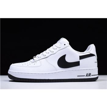 Supreme x Comme Des Garcons x Nike Air Force 1 Low White/Black AR7623-008