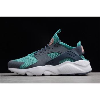 Nike Air Huarache Run Ultra Jade Blue/Grey-White AH6758-300