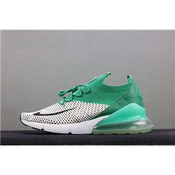 Men's Size Nike Air Max 270 Flyknit Clear Emerald AH6803-300