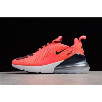NIKEiD Air Max 270 Hyper Pink/Black-White Men's and Women's Size BQ0742-996