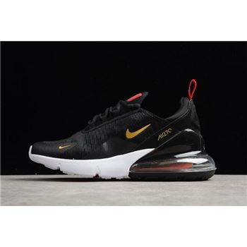 Nike Air Max 270 Flyknit FIFA World Cup Russia 2018 French Black/Gold AH8050-117