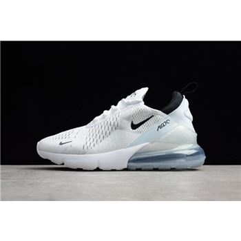 Nike Air Max 270 White Black Men's and Women's Running Shoes AH8050-100