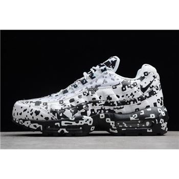 Nike Air Max 95 SE White/Black AQ4139-101 For Sale