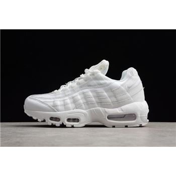 Nike WMNS Air Max 95 OG Triple White 307960-108 Free Shipping