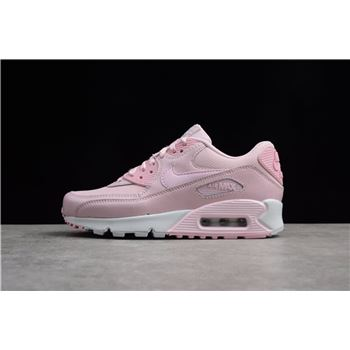 Women's Nike Air Max 90 Se Mesh GS Prism Pink/White 880305-600