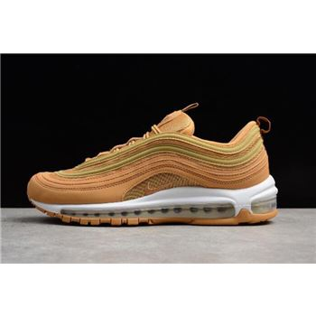 Nike Air Max 97 Wheat Men's Size Shoes AJ1986-200 For Sale