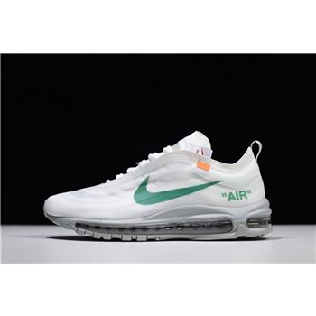 Virgil Abloh's Off-White x Nike Air Max 97 OG Off-White/Wolf Grey-White-Menta AJ4585-101