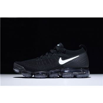 2018 Nike Vapormax Flyknit 2.0 In Black And White 942842-001 For Sale