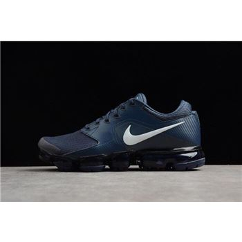 Nike Air VaporMax Thunder Blue/White Men's Running Shoes AH9046-401