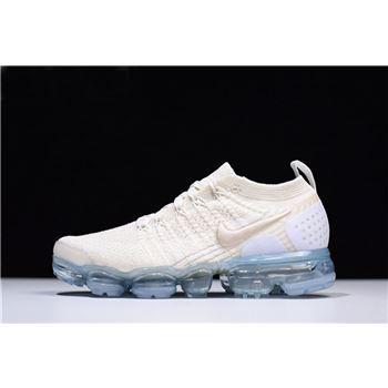WMNS Nike Air VaporMax 2.0 Light Cream/White-Metallic Gold 942843-201