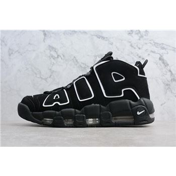 Mens and WMNS Nike Air Uptempo OG Black/White 414962-002