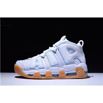 Men's and Women's Nike Air More Uptempo Ocean Bliss 415082-107