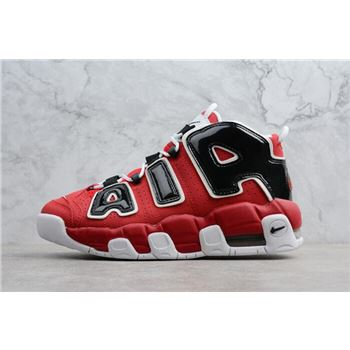 Nike Air More Uptempo Bulls Varsity Red/White-Black 921948-600