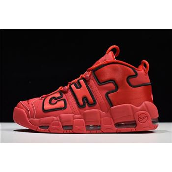 Nike Air More Uptempo Chi QS Chicago University Red/Black AJ3138-600