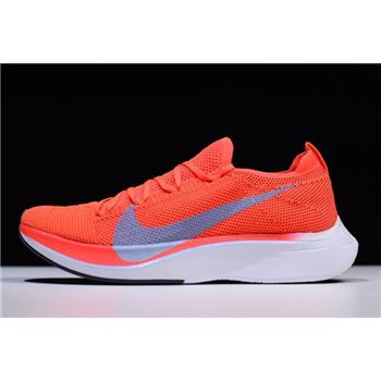 Nike Zoom VaporFly 4% Flyknit Bright Crimson/Ice Blue AJ3857-600