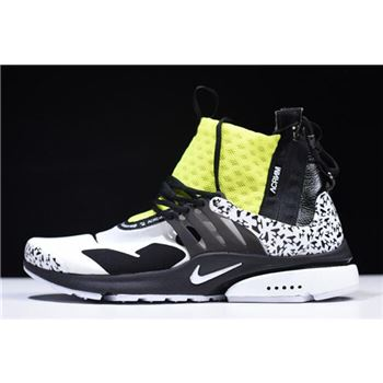 Acronym x Nike Air Presto Mid Dynamic Yellow AH7832-100