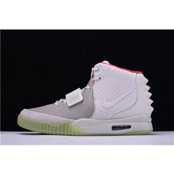 Nike Air Yeezy 2 NRG Wolf Grey/Pure Platinum 508214-010 On Sale