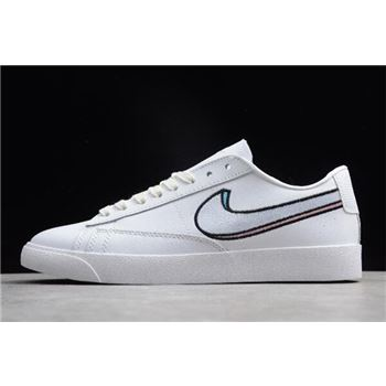 Nike Blazer Low LX Summit White/Oracle Pink-Signal Blue AV9371-101