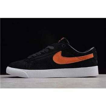 Nike SB Blazer Low GT Cat's Paw Saloon Black/Vivid Orange-White AV3028-001