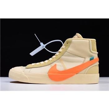 2018 OFF-WHITE x Nike Blazer Studio Mid All Hallows Eve AA3832-700