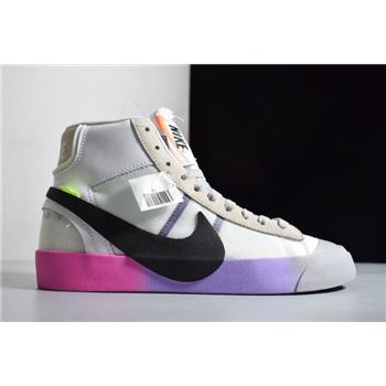 Off-White x Nike Blazer Mid Queen AA3832-102 Free Shipping