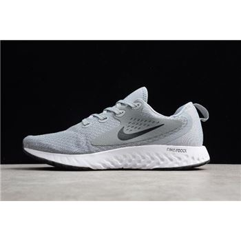 Nike Odyssey React Flyknit Gray/White Running Shoes AA1625-201