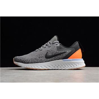 Women's Nike Odyssey React Gunsmoke/Black/Twilight Pulse Running Shoes AO9820-004