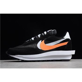 Sacai x Nike LDV Waffle Hybrid Black/White-Orange 884691-001