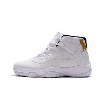 Air Jordan 11 OVO White Gold Men's Basketball Shoes