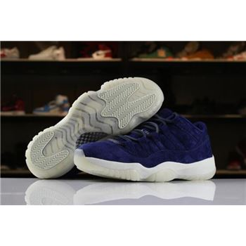 2018 Air Jordan 11 XI Low RE2PECT Binary Blue/Sail-Binary Blue AV2187-441 For Sale