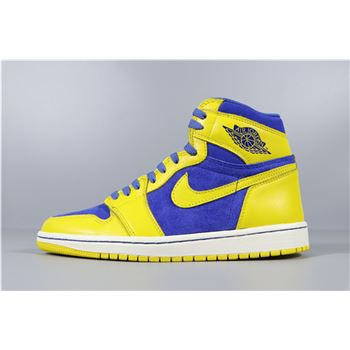 Air Jordan 1 Retro High OG Laney Varisty Maize/Game Royal-White 555088-707