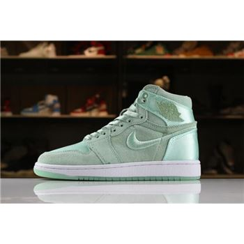Women's Air Jordan 1 Retro High SOH Mint Foam/White-Metallic Gold AO1847-345