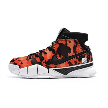Undefeated x Nike Zoom Kobe 1 Protro Red Camo Men's Shoes For Sale