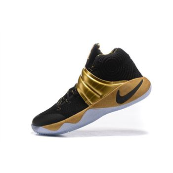 Nike Kyrie 2 Black Gold Finals PE For Sale
