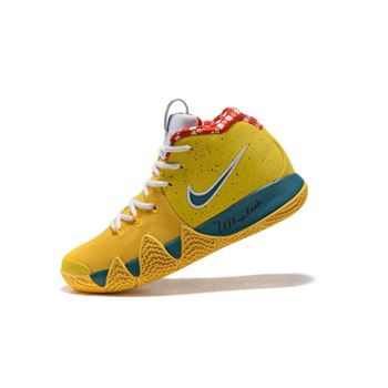 Nike Kyrie 4 Yellow Lobster PE Men's Basketball Shoes