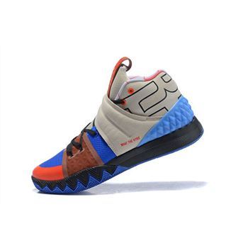 Nike Kyrie S1 Hybrid What The Kyrie Brown/Khaki/Blue/Orange/Black