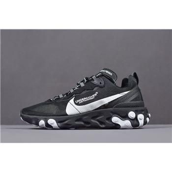 Undercover x Nike React Element 87 Black White Men's and Women's Size AQ1813-337